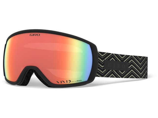 Giro Facet Skibriller, black zag/vivid infrared